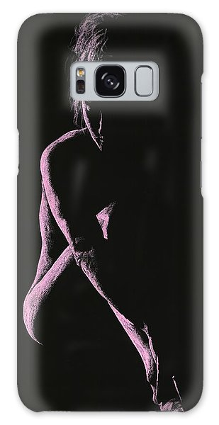 Sitting Nude Galaxy Case - Decisions by Richard Young
