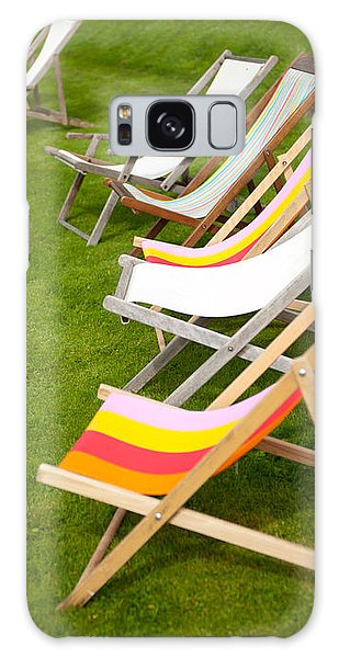 Deck Chairs Galaxy Case