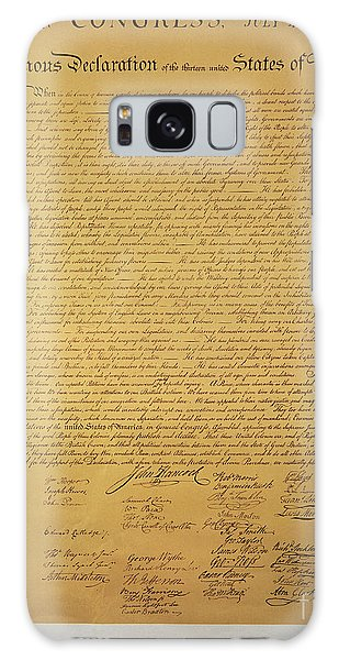 Human Rights Galaxy Case - Declaration Of Independence by American School