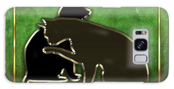 Deco Cats - Emerald Galaxy Case