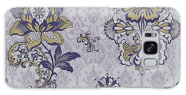 Tapestry Galaxy Case - Deco Flower Blue by JQ Licensing