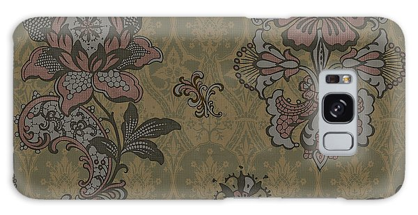 Tapestry Galaxy Case - Deco Flower Brown by JQ Licensing