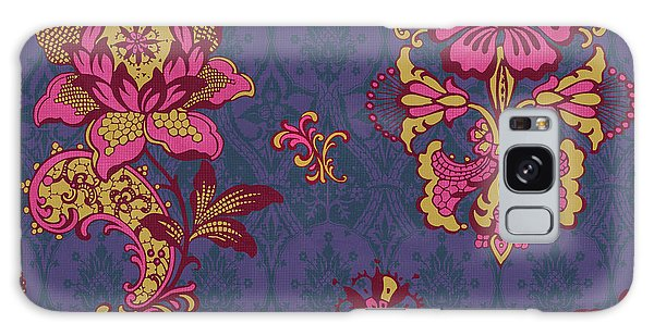 Tapestry Galaxy Case - Deco Flower Purple by JQ Licensing