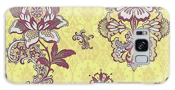 Tapestry Galaxy Case - Deco Flower Yellow by JQ Licensing