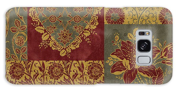 Tapestry Galaxy Case - Deco Heart Earthtones by JQ Licensing