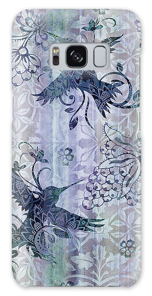 Tapestry Galaxy Case - Deco Hummingbird Blue by JQ Licensing