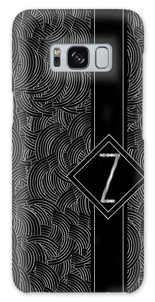 Deco Jazz Swing Monogram ...letter Z Galaxy Case