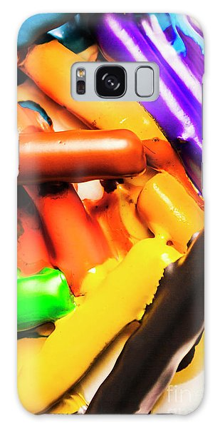 Splash Galaxy Case - Deconstructing The Colour Wheel by Jorgo Photography - Wall Art Gallery