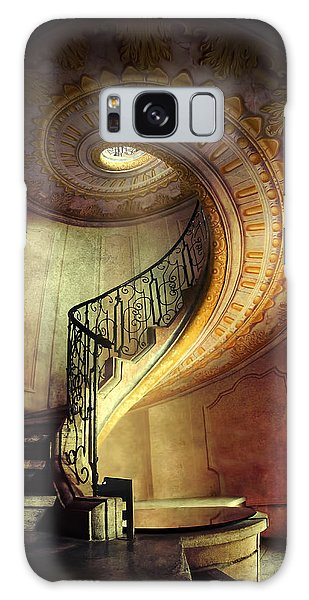 Decorated Spiral Staircase  Galaxy Case