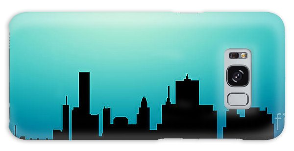 Decorative Abstract Skyline Houston R1115a Galaxy Case