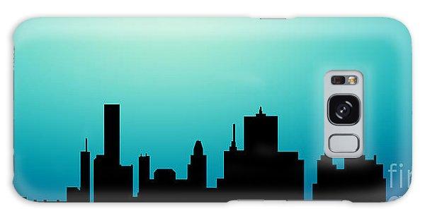 Decorative Abstract Skyline Houston R1115a Galaxy Case