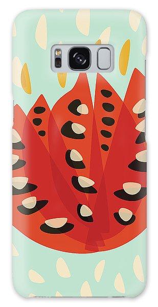 Decorative Beautiful Abstract Tulip Galaxy Case