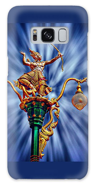 Decorative City Lamp Post Khon Kaen-thailand Galaxy Case by Ian Gledhill