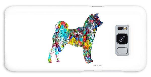 Decorative Husky Abstract O1015h Galaxy Case