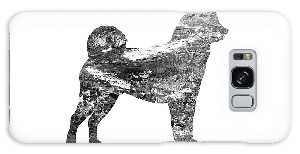 Decorative Husky Abstract O1015j Galaxy Case