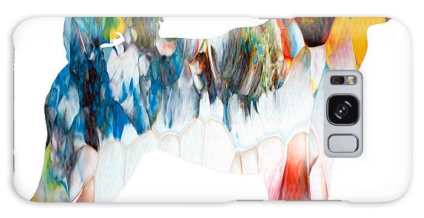 Decorative Husky Abstract O1015l Galaxy Case