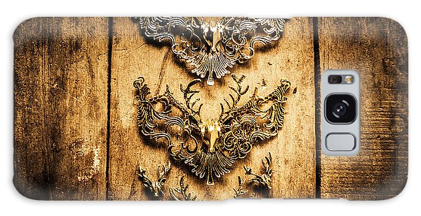 Antlers Galaxy Case - Decorative Moose Emblems by Jorgo Photography - Wall Art Gallery