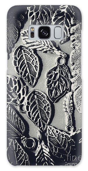 Metal Leaf Galaxy Case - Decorative Nature Design  by Jorgo Photography - Wall Art Gallery