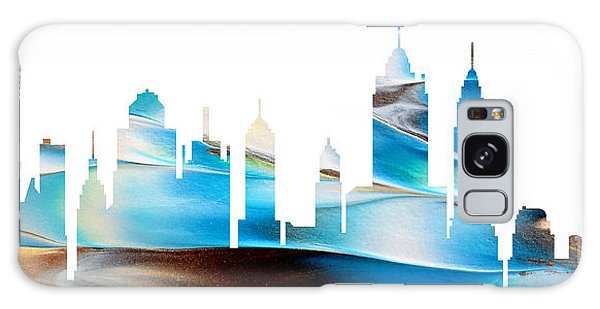 Decorative Skyline Abstract New York P1015a Galaxy Case
