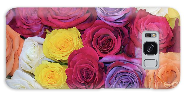 Decorative Wallart Brilliant Roses Photo B41217 Galaxy Case