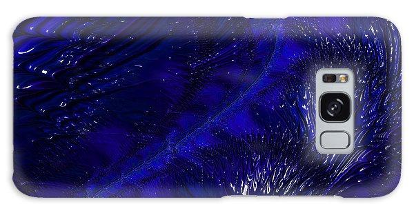 Deep Blue Galaxy Case