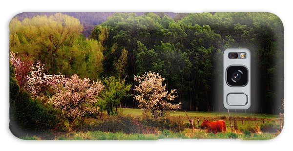 Deep Breath Of Spring El Valle New Mexico Galaxy Case