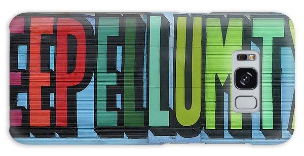 Deep Ellum Wall Art Galaxy Case