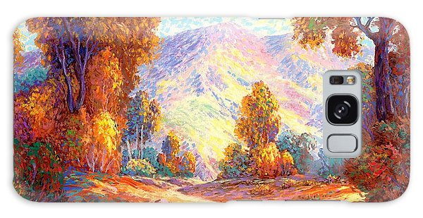 Foliage Galaxy Case - Radiant Peace, Colors Of Fall by Jane Small