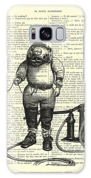 Patent Galaxy Case - Deep Sea Diver by Madame Memento
