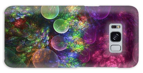 Petal Galaxy Case - Deep Sea Flora I by Amorina Ashton