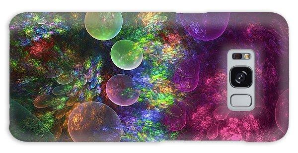 Flora Galaxy Case - Deep Sea Flora I by Amorina Ashton