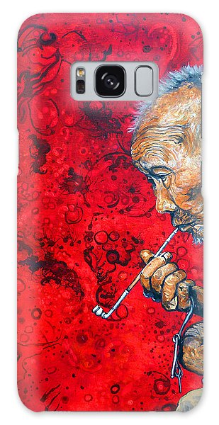 Deep Thoughts Galaxy Case by Tom Roderick