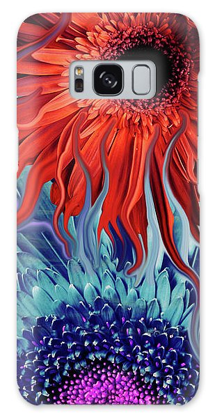 Deep Water Daisy Dance Galaxy Case