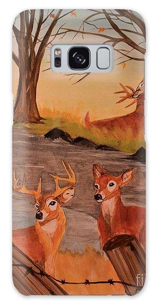 Deer 4 Sean Galaxy Case