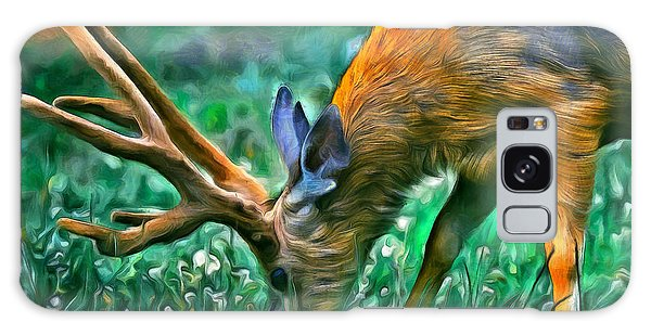 Deer At Lunch - Pa Galaxy Case
