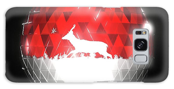 Galaxy Case - Deer Bauble - Frame 10 by Jules Gompertz
