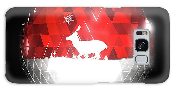 Deer Bauble - Frame 103 Galaxy Case
