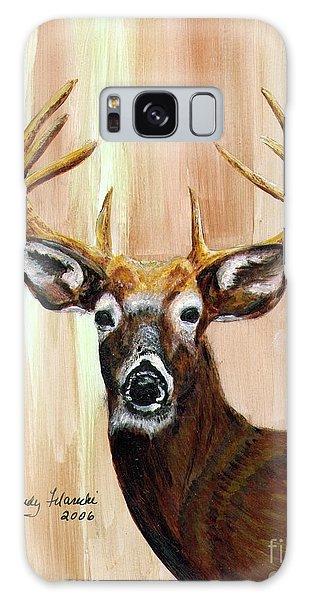 Deer Head Galaxy Case by Judy Filarecki