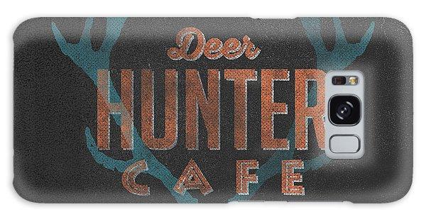 Rustic Galaxy Case - Deer Hunter Cafe by Edward Fielding