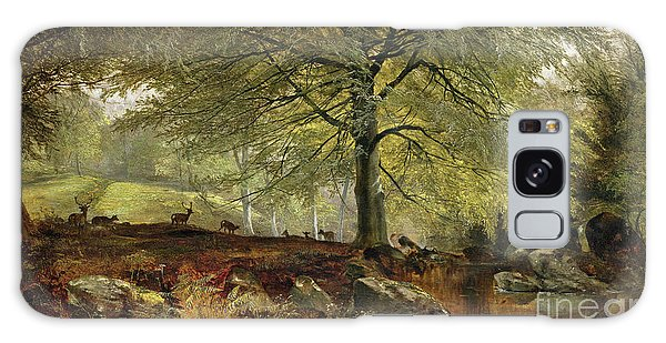 Joseph Galaxy Case - Deer In A Wood by Joseph Adam
