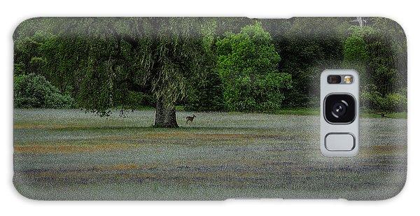 Deer In Meadow Galaxy Case