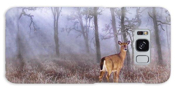 Deer Me Galaxy Case by Andrea Kollo
