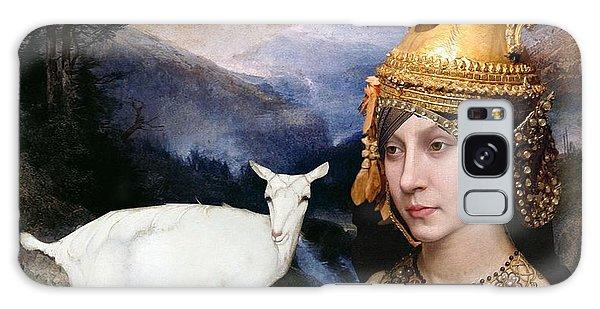 Deer Medicine Woman Galaxy Case