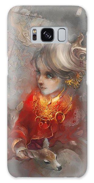 Myth Galaxy Case - Deer Princess by Te Hu
