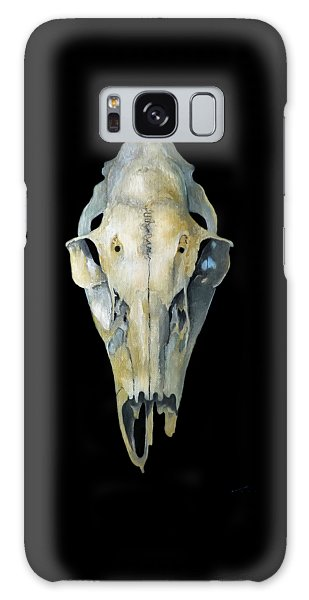 Deer Skull Aura Galaxy Case by Catherine Twomey