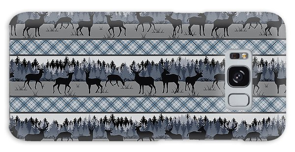 Black Buck Galaxy Case - Deer Trail Lodge-b by Jean Plout