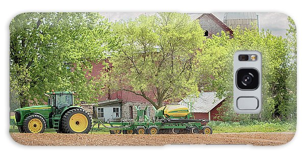 Deere On The Farm Galaxy Case