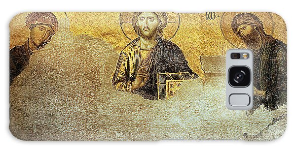 Deesis Mosaic Hagia Sophia-christ Pantocrator-judgement Day Galaxy Case