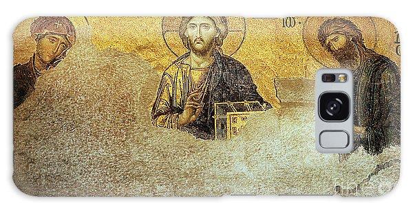 Deesis Mosaic Hagia Sophia-christ Pantocrator-judgement Day Galaxy Case