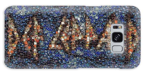 Def Leppard Galaxy S8 Case - Def Leppard Albums Mosaic by Paul Van Scott